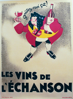 Les Vins de L'Echanson, Anonymous Artists