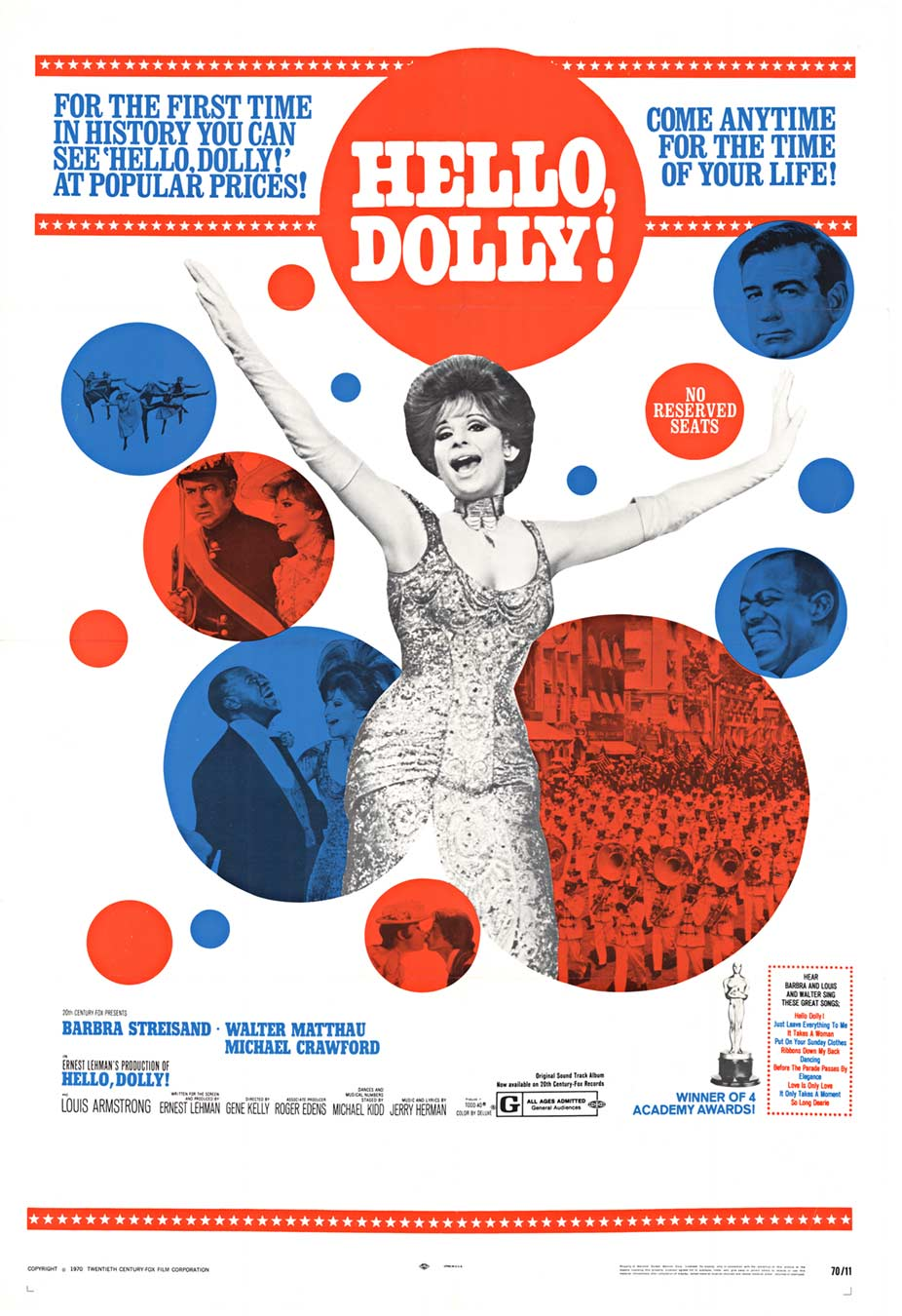 Hello Dolly!, Anonymous Artists