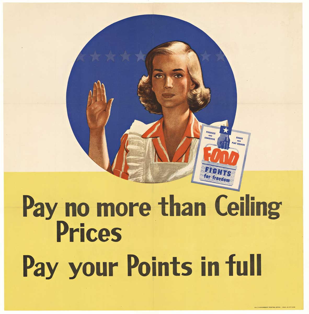 Pay no more than Ceiling Prices, Frederick  G. Cooper