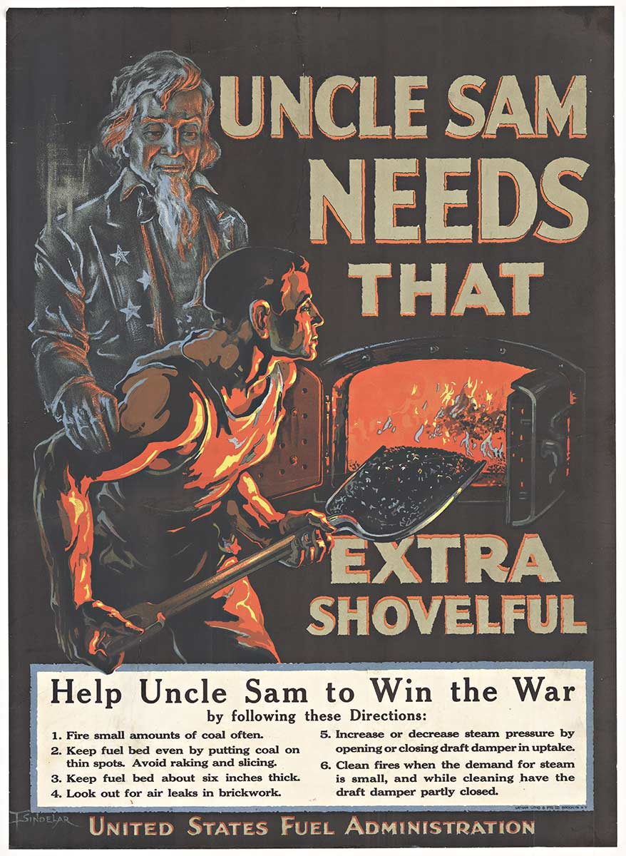 Uncle Sam Needs That, F. Sindelar