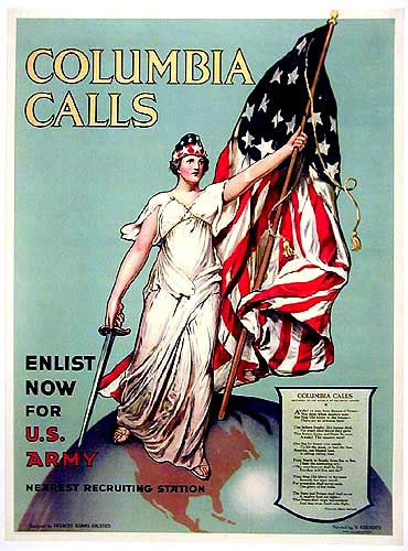 Columbia Calls - Enlist Now for U.S. Army, V. Aderente