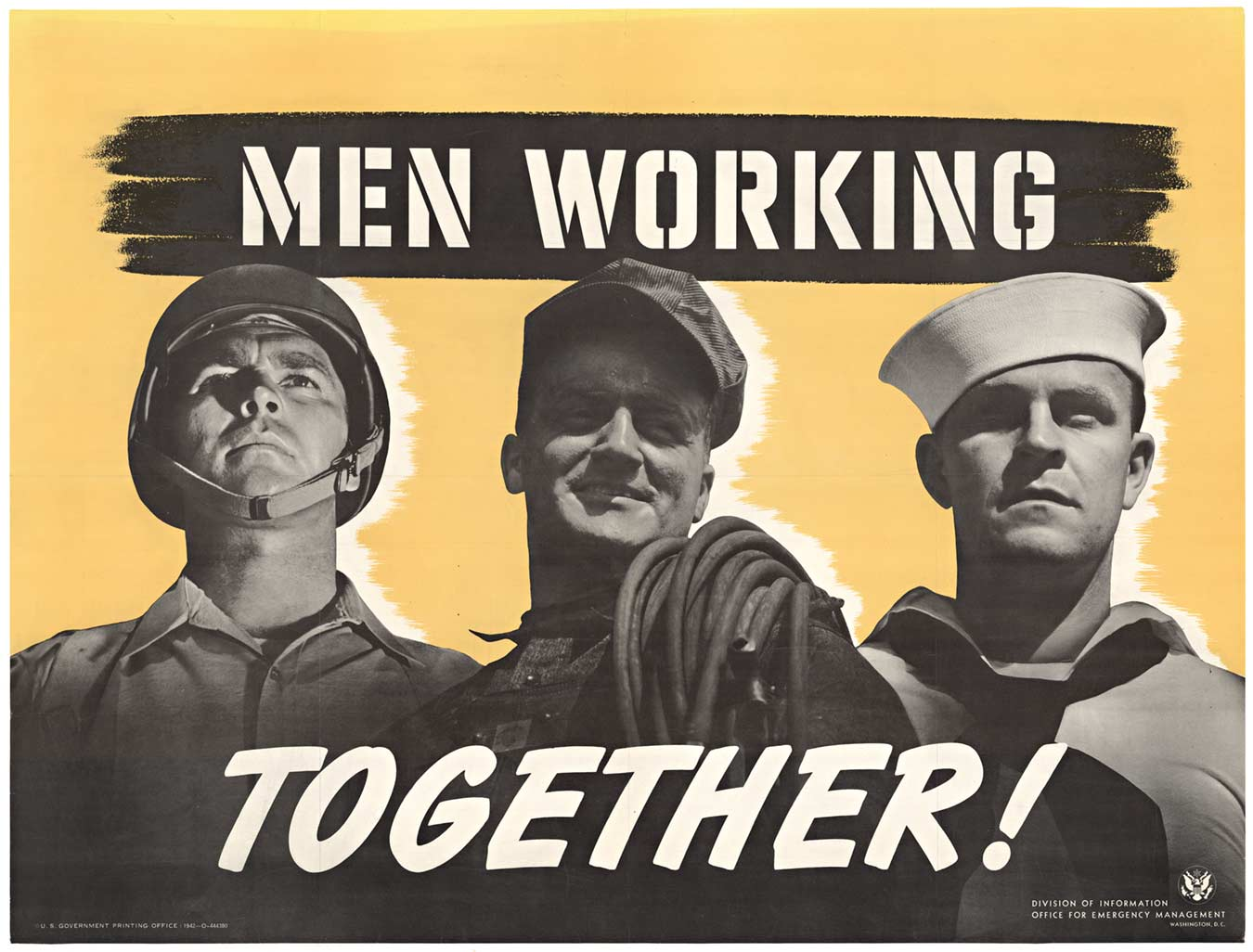 Anonymous Artists - Men Working Together border=