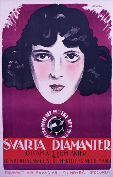 Svarta Diamanter - Black Diamond, Hakansson
