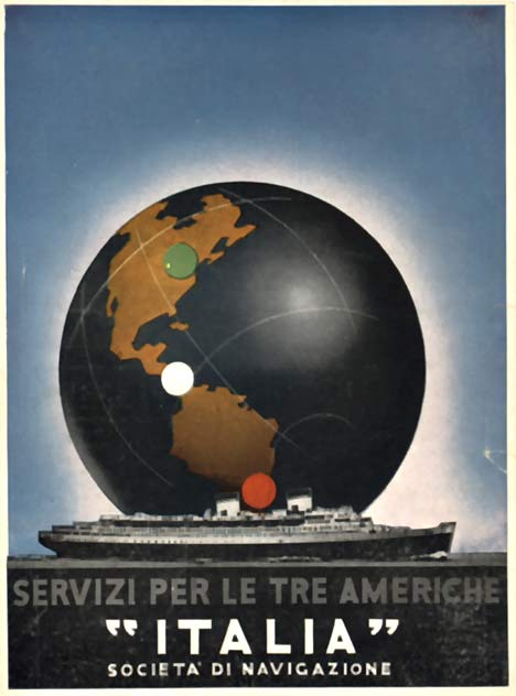 Italia - Servizi per le tre Americhe, Anonymous Artists
