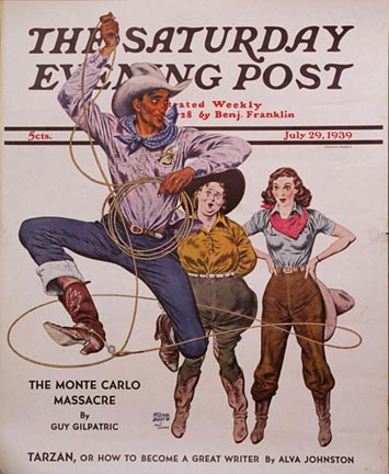 Two Cowgirls & a Lasso, Floyd Davis