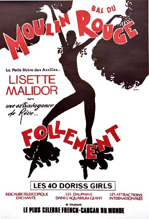 Follement - Moulin Rouge, Rene Gruau