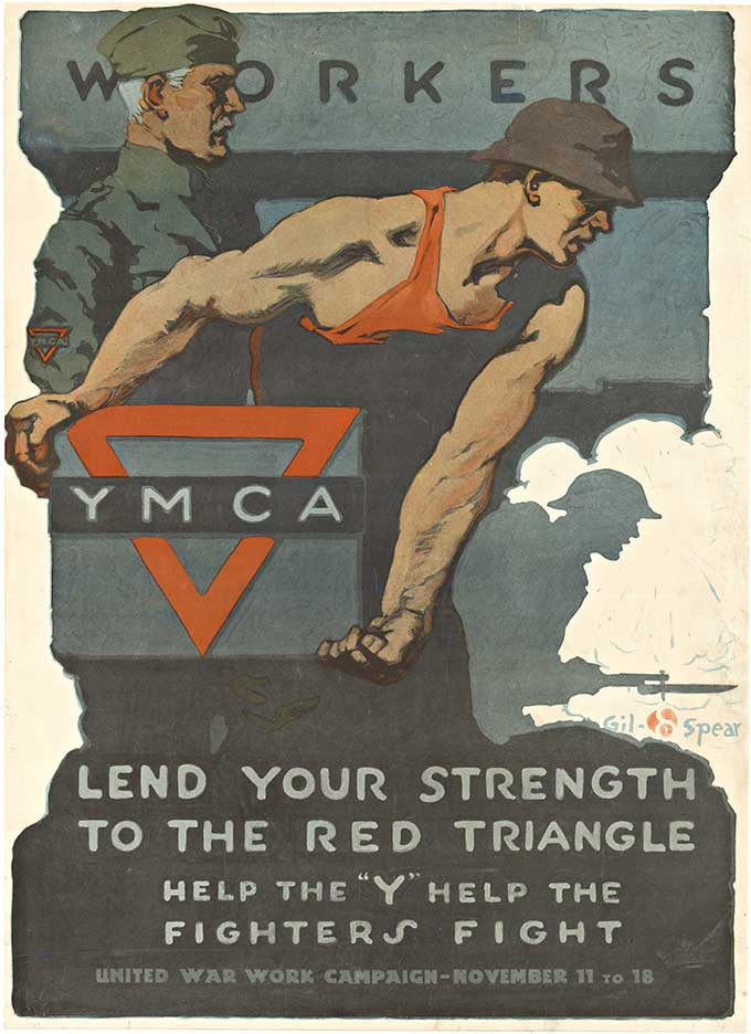 Gil Spear - YMCA Workers border=