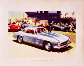 Mercedes-Benz Type 300-SL, Frank Wootton