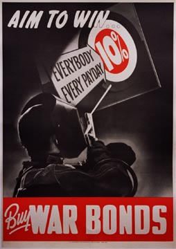 Anonymous Artists - Aim to Win Buy War Bonds border=