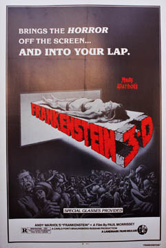 Frankenstein 3-D, Anonymous Artists