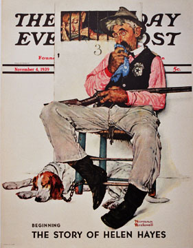 Norman Rockwell - Jail Keeper border=