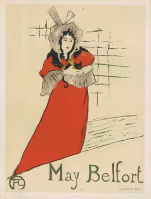 Henri Toulouse-Lautrec - May Belfort border=