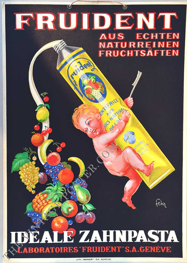Fruident - with natural fruit juice, Fehr