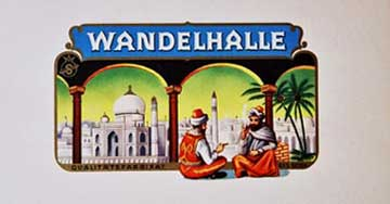 Wandelhalle Arabs, Anonymous Artists