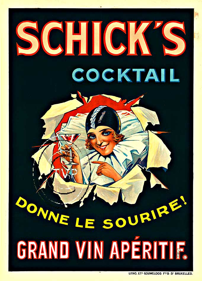 Schick's Cocktail, Anonymous Artists