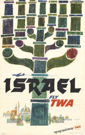 Israel - Fly TWA Up Up and Away, David Klein