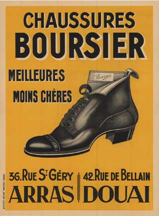 Chaussures Boursier, Anonymous Artists
