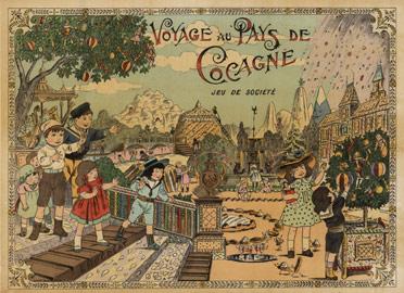 Voyage Au Pays De Cocagne L 233 On Leon Saussine The Vintage Poster