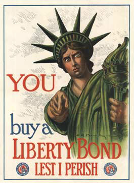 YOU Buy a Liberty Bond  (Small format), C. R. Macauley