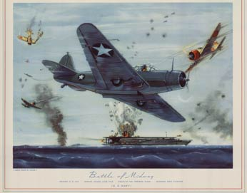 Battle of Midway, Charles H. Hubbell
