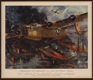 Consolidated B*24 Liberators, Charles H. Hubbell