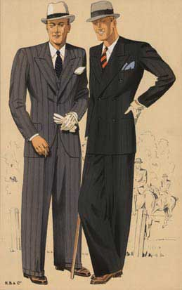 Two Dapper Men, Anonymous Artists