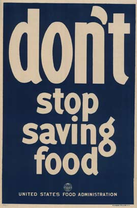 Don't stop saving food, Anonymous Artists