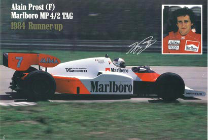 Anonymous Artists - Alain Prost (F) border=