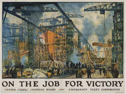 On The Job For Victory (Med. Format), Jonas Lie