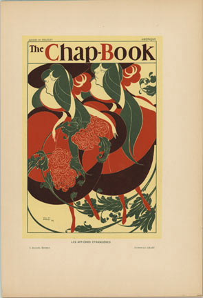 The Chap Book- Flower Girls, Will  (William) H. Bradley