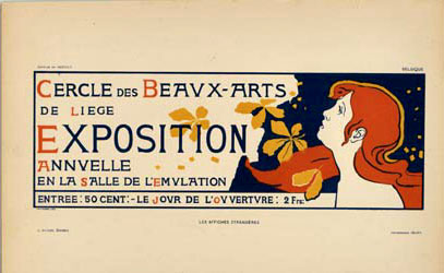 Exposition Beauz Arts, Auguste Donnay