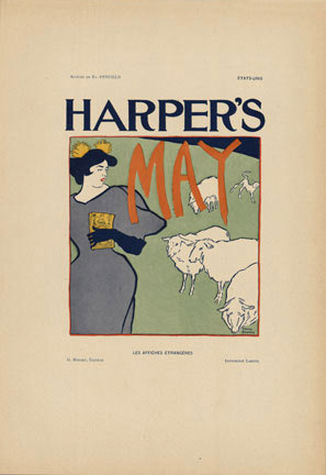 Edward Penfield - Harpers May border=