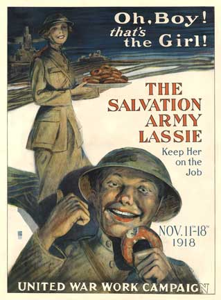 The Salvation Army Lassie, George Mather Richards