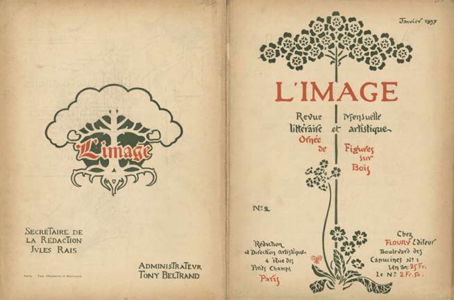 L'Image- Couverture Janvier N� 2, Anonymous Artists