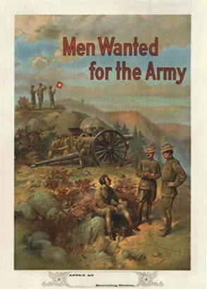 Men Wanted for The Army (Canon), Michael P Whelan