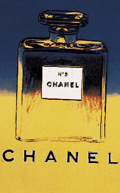 Chanel No. 5  Yellow - Blue (L), Andy Warhol