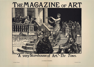 The Magazine of Art, Hubert von Herkomer