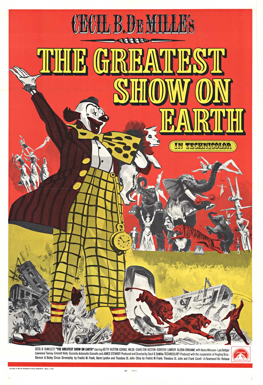 DeMille's Greatest Show On Earth, Anonymous Artists
