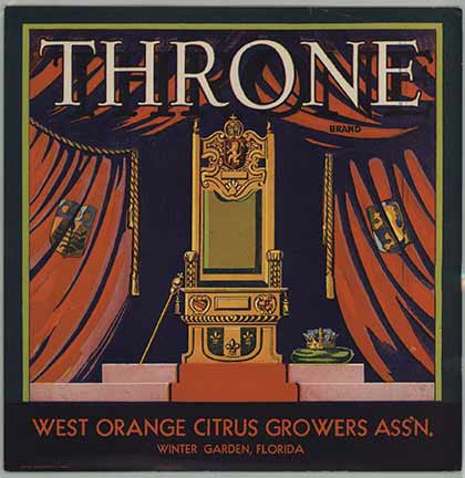 Throne, Anonymous Artists