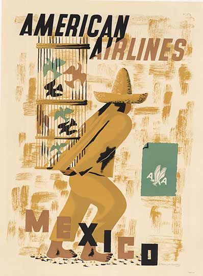 American Airlines Mexico, Edward McKnight Kauffer