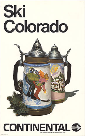 Ski Colorado - Continental, Anonymous Artists