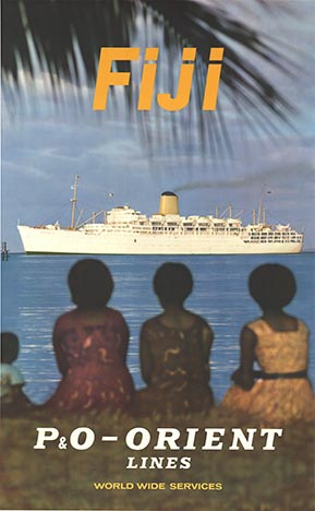 FIJI P&O Orient Lines, Anonymous Artists