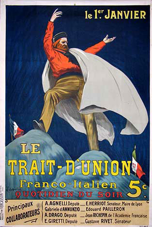 Le Trait-D' Union, Leonetto Cappiello