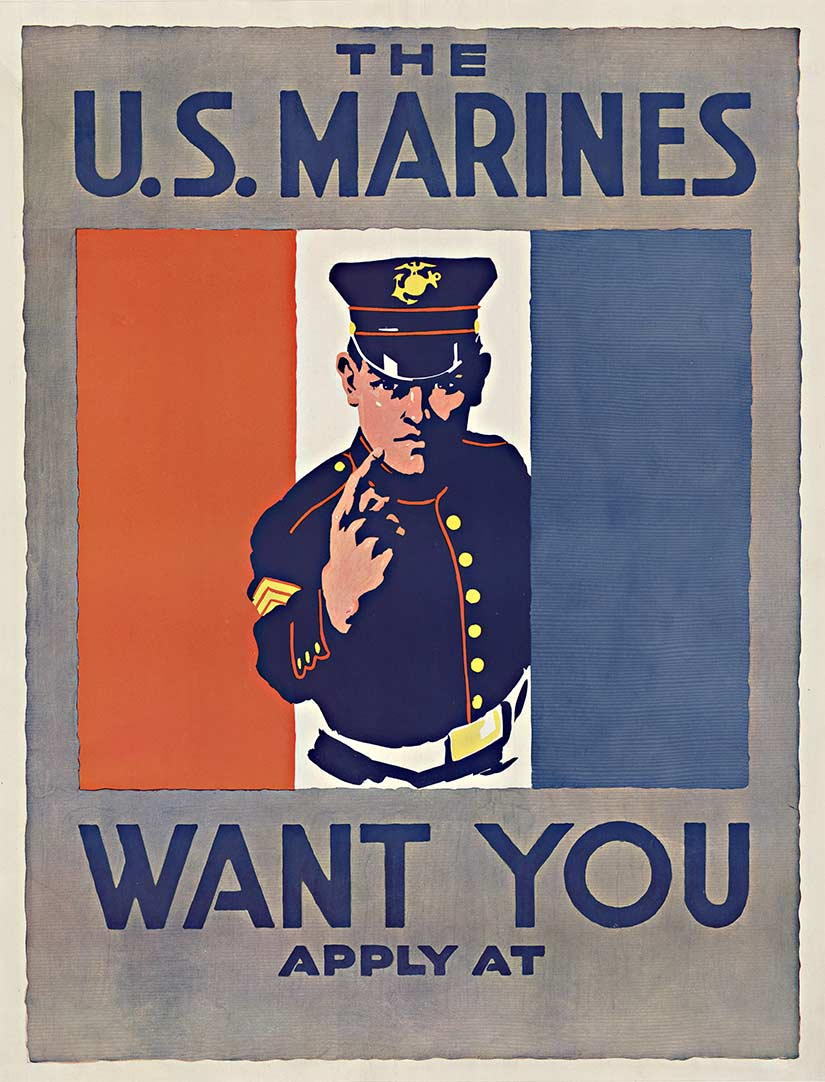 Anonymous Artists - The Marines Want You border=