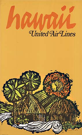 United Airlines Hawaii, Anonymous Artists
