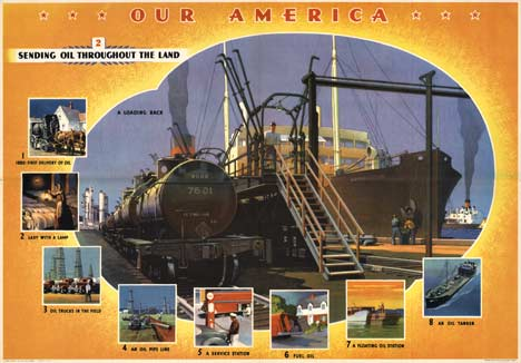 Our America Oil # 2, Coca Cola