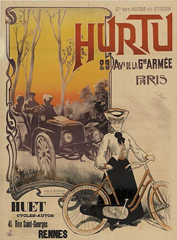 Hurtu Bicycles and Automobiles, Henri Gray