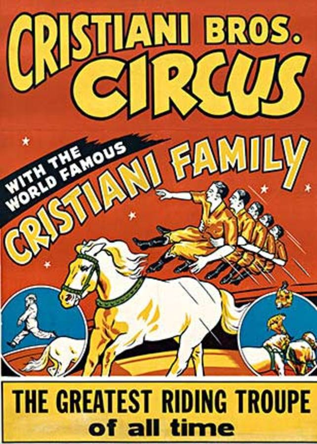 Cristiani Bro. Circus, Anonymous Artists