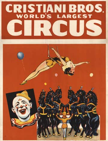 Cristiani Bros. World's Largest Circus, Anonymous Artists