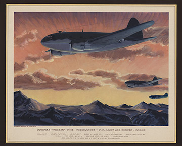 Curtis- Wright C-46 Commandos, Charles H. Hubbell